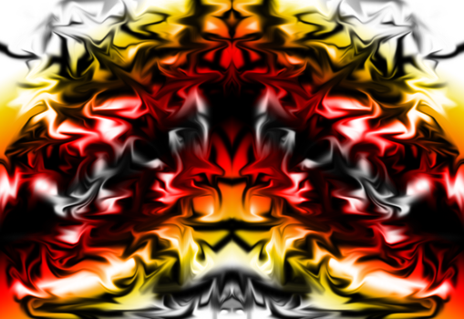Abstract Art- Flames and Tyranny by EsotericDichotomy