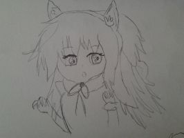 who the fuck is this even?sketch anime by cottoncloudyfilly