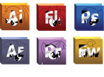 adobe pony icon pack by Swivel-Zimber