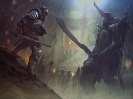 Darksouls fan-art by LozanoX