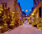 Quebec City - Petit Champlain - Christmas - 01 by GiardQatar