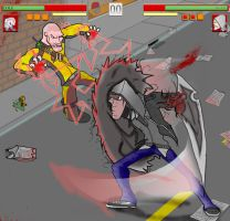 Prototype Vs Infamous 2 by shifter00