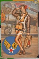 Pinups - After the Mission by warbirdphotographer