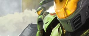 Halo Wars: The Green Line by LuciferZillyhoo