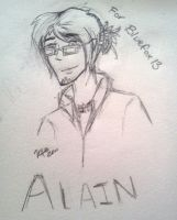 Alain for Bluefox13 by KeireiChan