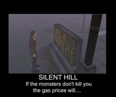Silent Hill Killer Gas Prices by the-retarded-corgi