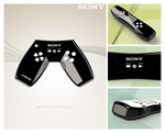 Sony game controller design by Mawk-G