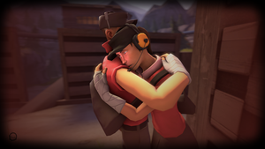 Hug | TF2 Wallpaper by iSlimed