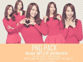 PNG PACK Yoona SKT LTE promotion by Tiffany07SONE by Tiffany07Sone