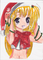 X-Mas art trade by Angelkitty765
