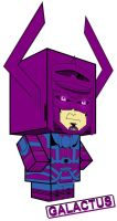 Galactus Cubee by Viper005