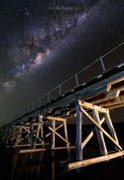 Milky way over Myponga by Aquilapse