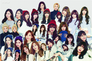 4122015 Pack Render SNSD by Loo-Luyi