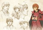 Commission: Nathnael sketchpage by SerenaVerdeArt