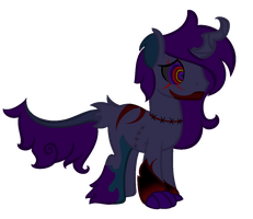 Halloween adoptable (closed) by darknes2012