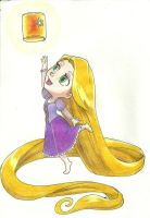 Rapunzel by KaylaNostrade