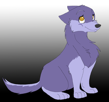 Dusk's First Pup by Aqua-Amethyst-Angel