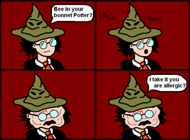 Harry and the Sorting Hat by Stv-Hktk