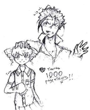 1000 pageviews sketch by Rbombz