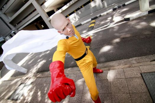 One Punch Man - Saitama by Xeno-Photography