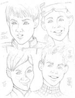 Four Different Faces by Neumatic