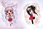 AGG chibis by Tarese