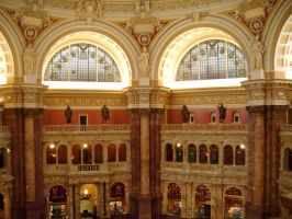 DC TRIP- Library of Congress 3 by moxie2000