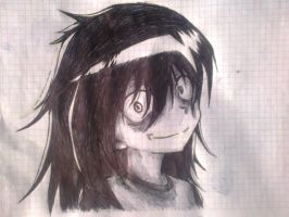 Tomoko de Watamote! Fan-Art 2 by Berseker51