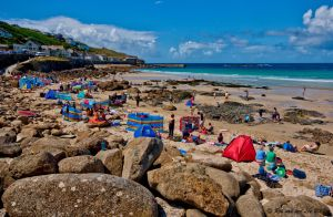 Beachtime at Sennen Cove by forgottenson1