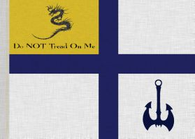 DO NOT TREAD ON ME naval ensign by ClymberPaddler
