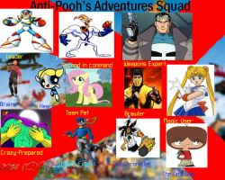 My Pooh's Adventures Extermination Squad by DrEarthwormRobotnik