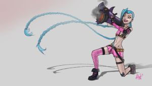Jinx, The Loose Cannon by xXLushieXx