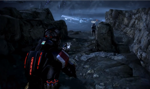 Mass Effect Hud03 - Red by Nuranon