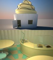 Speed modeling - Bakery by Ricsmond