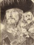 Captain Hector Barbossa by CaptnArrri