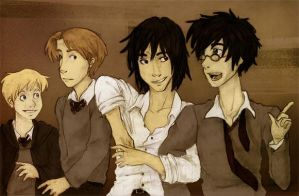 Old - The Marauders by silveraaki