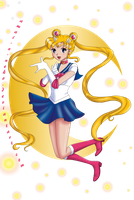 Sailor Moon by amai-x-neko