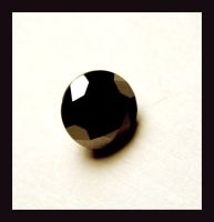 3ct Black Diamond by manwithashadow