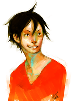 Luffy by Lika-san