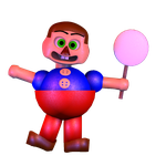 [C4D] Stylized Ballon Boy Dowload ! by TheFoxGamerOfficial2