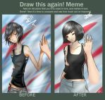 Before After meme - Mirror's Edge by TCS1992