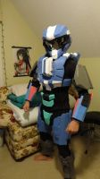 Halo 4 - Spartan Scout Costume by TheSouthernAndrew