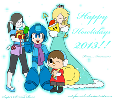 Have a Super Smashing Christmas 2013!! by Estefanoida