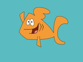 Dennis the Goldfish by Percyfan94