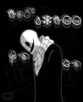 Gaster by Meow101XD