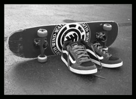 Elements of Skateboarding by Midna