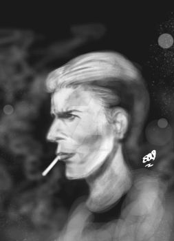 David Bowie (tribute) by triple--eight