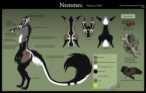 Nemmec ref sheet updated by Krissyfawx