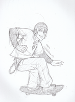 6teen - Jude sketch by JadeRaven93
