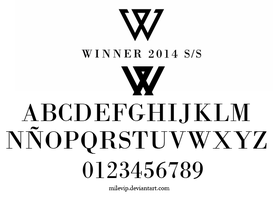 WINNER FONT by Milevip